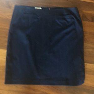 Talbots Navy Pencil Skirt 16W
